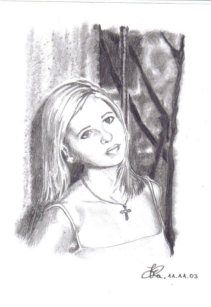 Zeichnungen/ Bleistiftporträts